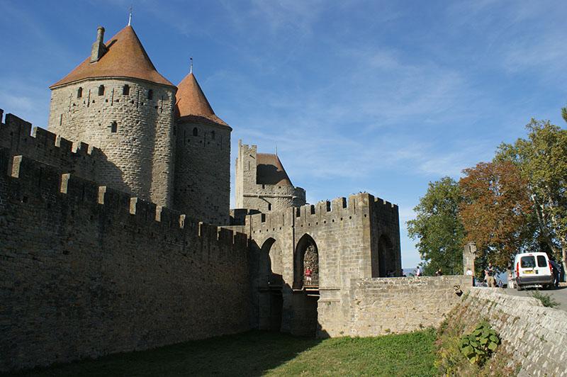 Carcassonne portcullis